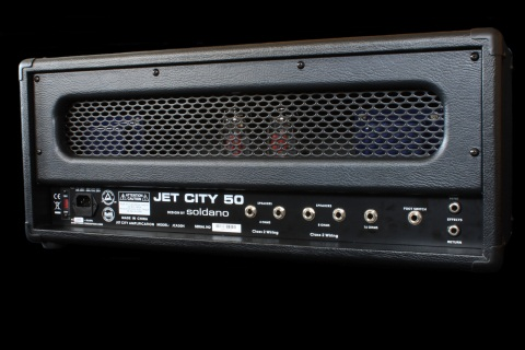 jet city amplification jca50h burgundy snakeskin back