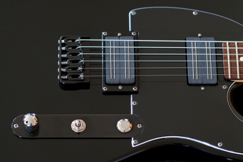 Fender Telecaster Phantomcaster - Bare Knuckle Pickups Black Hawk Set
